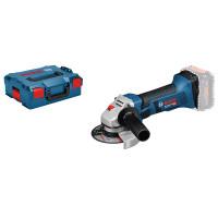 Bosch Professional Haakse accuslijpmachines GWS 18-125 V-LI, L-BOXX (zonder batterij en oplader) - 060193A308