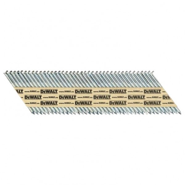 DeWALT Chiodi in stecca DNPT, ring, galvanizzati G12, 75 mm, 2200 pezzi - DNPT28R75G12Z