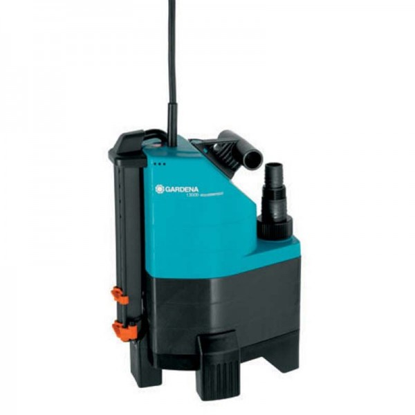 Gardena Pompe d'évacuation pour eaux chargées aquasensor 13000 Comfort - 01799-20