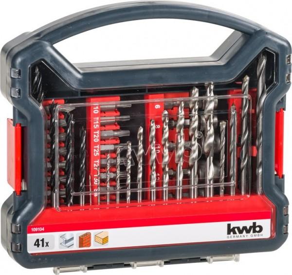 KWB Promobox standaard, 41-delig - 109104
