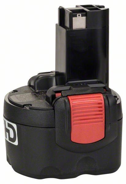 Bosch Akku Pack HD, 9,6 V-O, Akkukapazität 2,6 Ah, Zellentechnologie NiMH