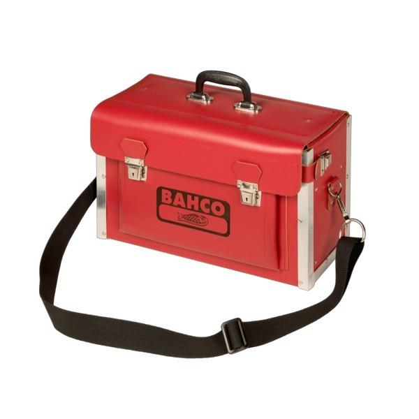 Bahco Valigia per utensili in cuoio, per elettricisti, 285 mm - 4750-VDEC