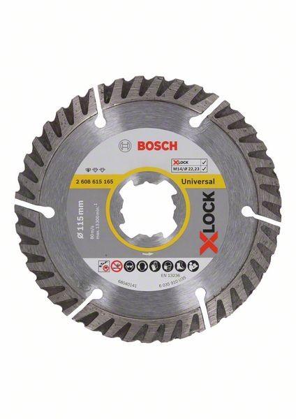 Bosch X-LOCK Trennscheibe Standard for Universal, D 115 mm - 2608615165