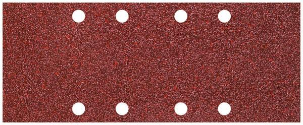 Wolfcraft Patins abrasifs perforés, corindon, grain 40/80/120