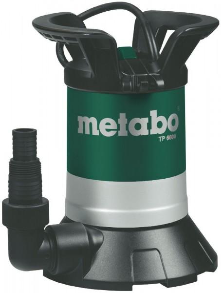 Metabo Pompe immergée pour eaux claires TP 6600