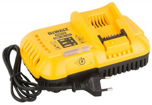 DeWALT Schnellladegerät für 54 bzw. 18 Volt DCB118-QW