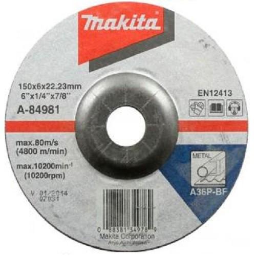Makita Mola da sbavo 150mm, 10 pezzi - A-84981-10