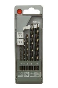 Wolfcraft Forets à béton HM 5 pcs