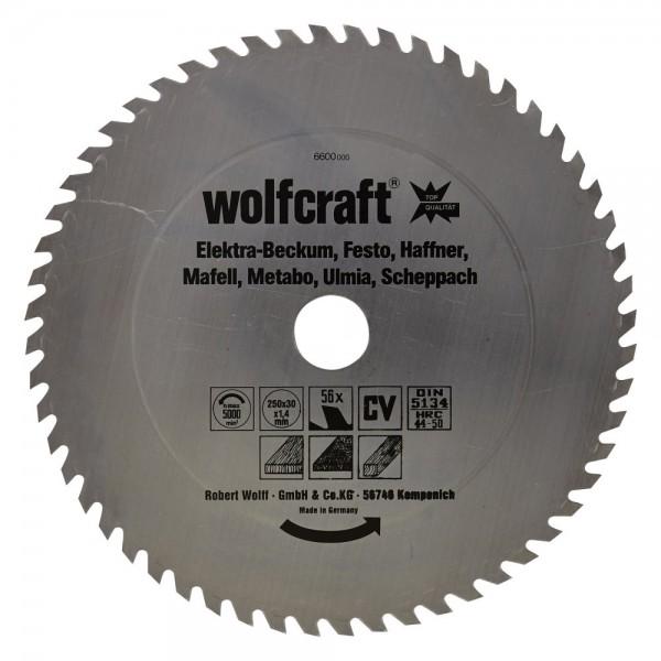 Wolfcraft Tafelzaagbladen serie rood (snelle grove zaagsneden) - 6600000