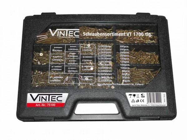 Vintec Assortiment de vis VT 1700 pce - 75100