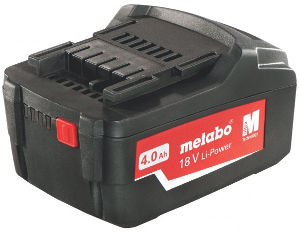 "Metabo Akkupack 18 V, 4,0 Ah, Li-Power, ""AIR COOLED"""