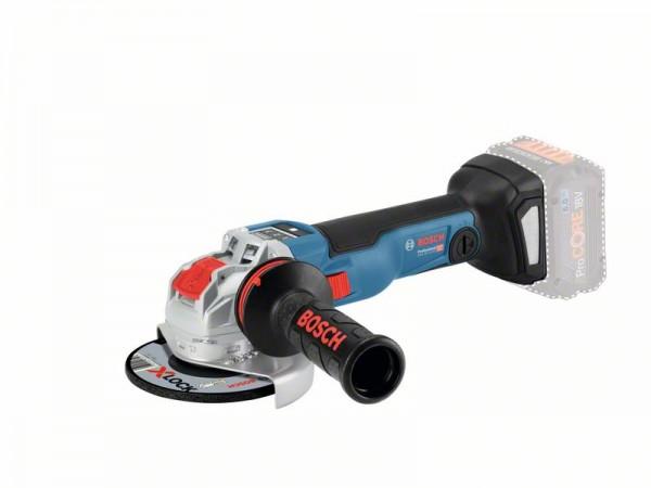 Bosch Professional Akku-Winkelschleifer GWX 18V-10 SC, ohne Akku und Ladegerät, L-BOXX, mit X-LOCK - 06017B0400