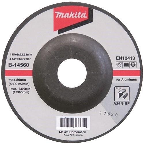 Makita Schruppscheibe 115mm, 25 Stück - B-14560-25