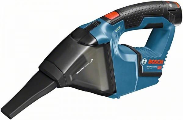 Bosch Professional Akku-Sauger GAS 12V, mit 2 x 3,0 Ah Li-Ion Akku, L-BOXX - 06019E3003