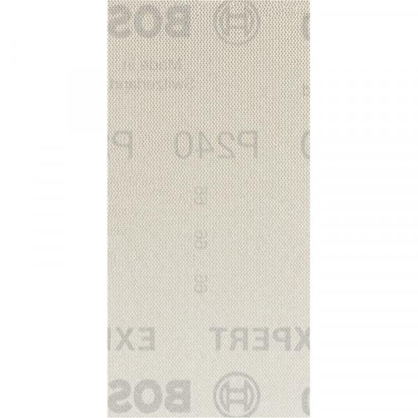 Bosch Professional EXPERT M480 Schleifnetz für Schwingschleifer, 93 x 186mm, G 240, 50-tlg., für Exzenterschleifer - 2608900758