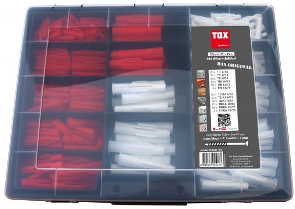 TOX Tassello universale - Assortimento Miniset Clever Mix Pro 446 pz - 94901114