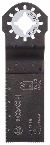 Bosch Lama per tagli dal pieno BIM AIZ 32 APB Wood and Metal 50 x 32 mm - 2608661629