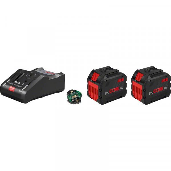 Bosch Starter Set 2 batterie ProCORE18V 12.0Ah + caricabatteria GAL 18V-160 C - 1600A016GY