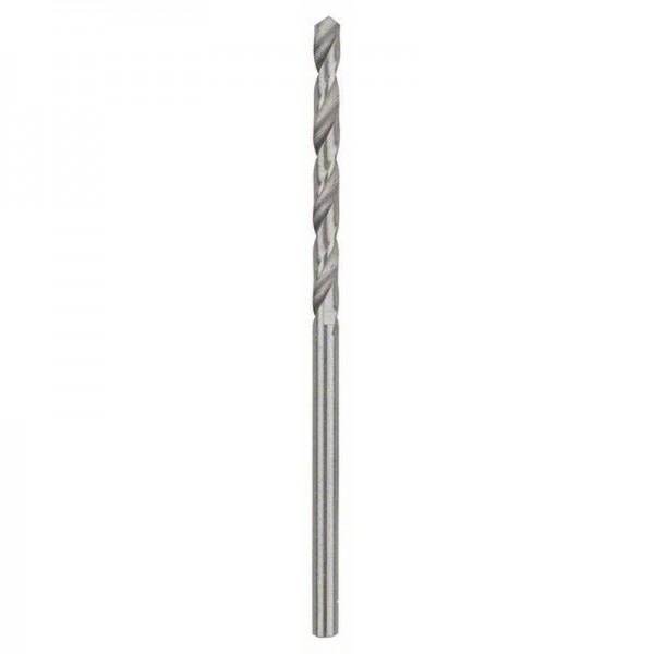 Bosch Punte per metallo HSS-G, DIN 338 2,5 x 30 x 57 mm