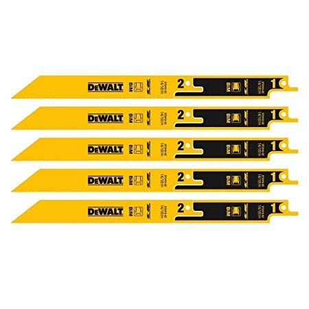 DeWALT Lame per sega universale BIM, 230 mm, 5 pezzi - DT2416-QZ