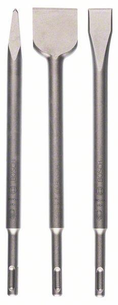 Bosch Set de burins SDS-plus, 3 pièces