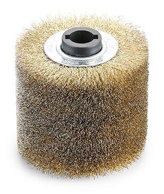 Flex Spazzola a trefoli in acciaio BW-S D100/85 - 465178