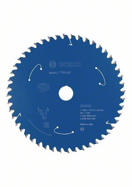 Bosch Lame de scie circulaire Expert for Wood, 165x1,5/1x20, 48dents - 2608644509