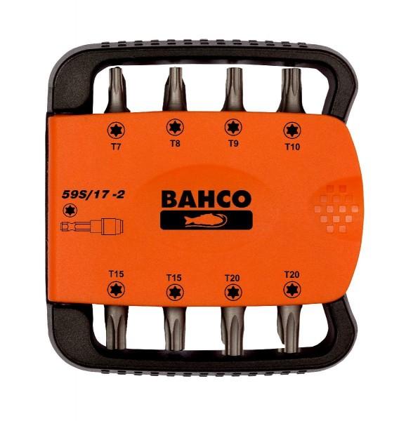 Bahco JEU D'EMBOUTS 17 PCS TORX - 59S/17-2