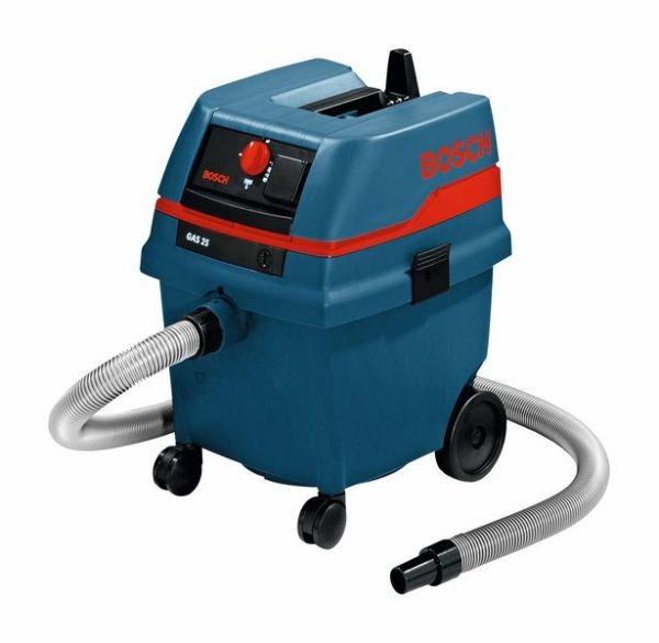 Bosch Aspiratore a umido/a secco GAS 25 L SFC Professional con accessori, 1200W, 20L - 0601979103