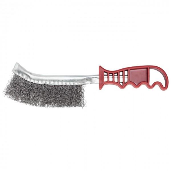 Gedore red Drahtbürste mit Kunststoffgriff, 3-reihig, 260 mm - R93710143