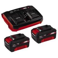 Einhell PXC-Starter-Kit (2x 3,0Ah), Twincharger Kit - 4512083