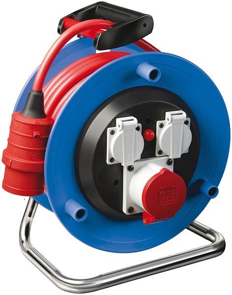 Brennenstuhl Enrollacables Garant CEE 1, para la industria o construcción, IP44, 30m H07RN-F 5G2,5 - 1237980