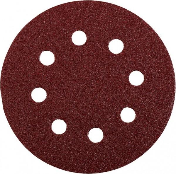 KWB QUICK-STICK schuurschijven, HOUT & METAAL, edelkorund, Ø 115 mm, geperforeerd - 491800