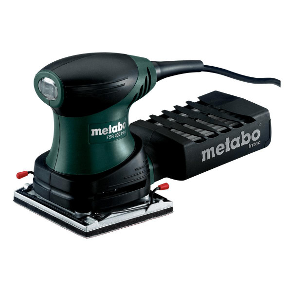 Metabo Lijadora orbital con manopla FSR 200 Intec (600066500) - Maletín profesional