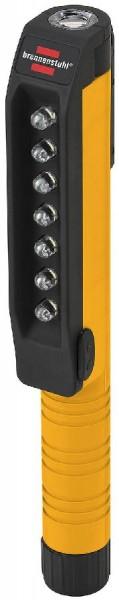 Brennenstuhl 7 + 1 LED Clipleuchte HL SB 71 MC mit Clip und Magnet am Clip