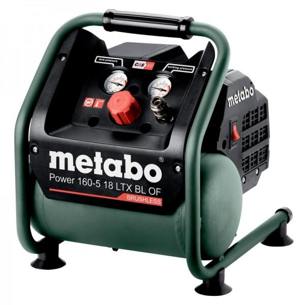Metabo Akku-Kompressor Power 160-5 18 LTX BL OF, 18V, ohne Akkupack, ohne Ladegerät, Karton - 601521850