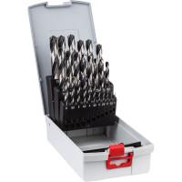 Bosch Professional Set di punte per metallo in ProBox da 25 pz., HSS PointTeQ - 2608577352