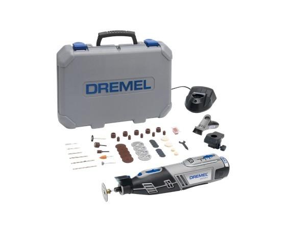 DREMEL 8220-2/45 Akku-Multifunktionswerkzeug 12 V, 2 Vorsatzgerät, 45 Zubehöre - F0138220JF