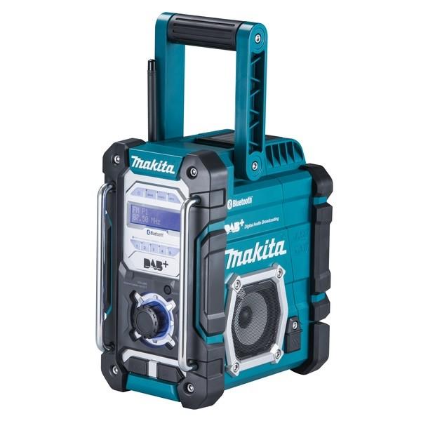Makita Radio da cantiere 7,2 V - 18 V con DAB+ e Bluetooth - DMR112