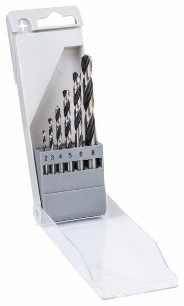 Bosch HSS spiraalboor PointTeQ 6-delige set - 2608577346