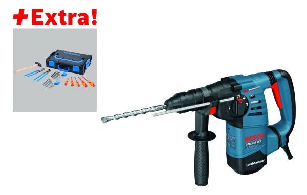 Bosch Professional Boorhamer GBH 3-28 DFR met SDS-plus, L-BOXX + Gedore-BOXX - 0615990J7Z