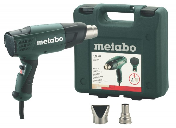Metabo Heißluftgebläse H 16-500 + Koffer + Zubehör