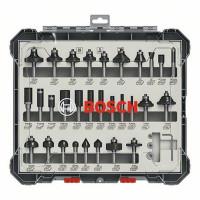 Bosch Fräser-Set, 8-mm-Schaft, 30-teilig - 2607017475