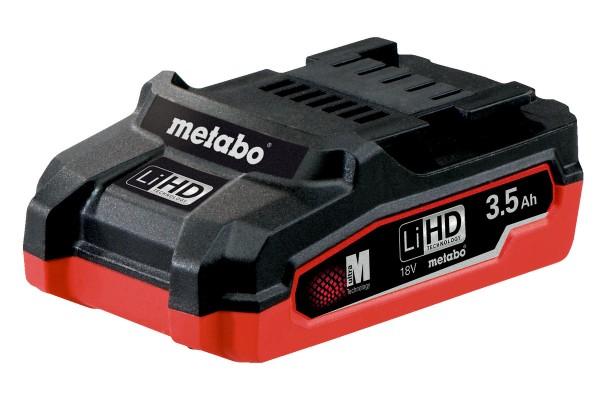 Metabo Akkupack LiHD 18 V - 3,5 Ah - 625346000
