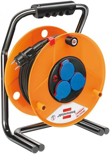 Brennenstuhl Enrollacables Brobusta, para la industria o construcción, IP44, 40m H07RN-F 3G1,5 - 1318930