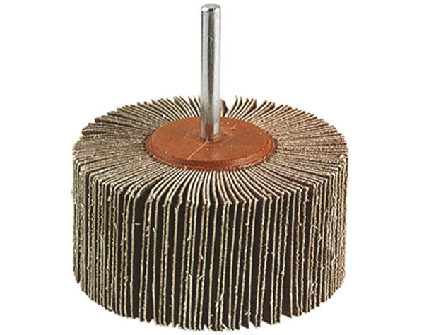 Wolfcraft Roue abrasive à lamelles, grain 120