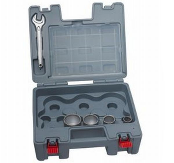 Bosch Scies-trépans diamantées à sec Dry Speed Best for Ceramic, set de 4 pièces 25, 35, 45, 51 mm