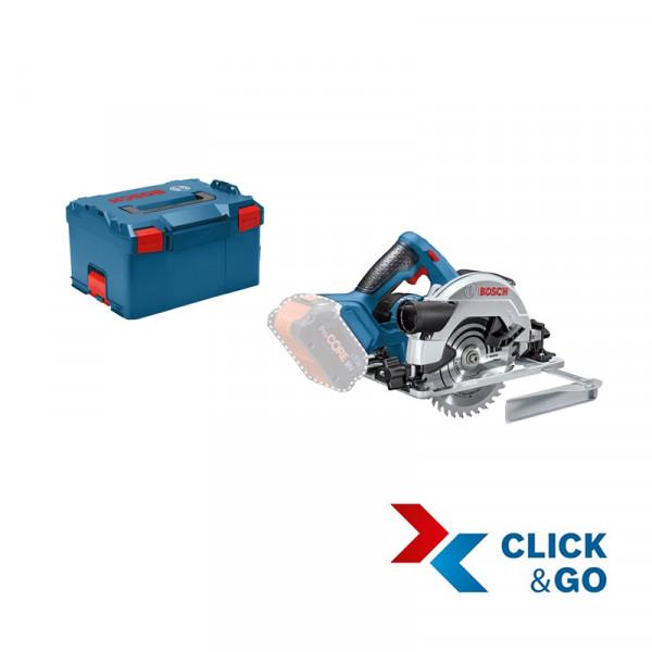 Bosch Professional Akku-Kreissäge GKS 18V-57 G, ohne Akku und Ladegerät, L-BOXX - 06016A2101
