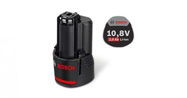 Bosch Professional Akkupack GBA 10,8 Volt / GBA 12 Volt, 2,0 Ah, O-B - 1600Z0002X