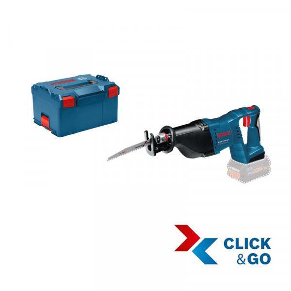 Bosch Professional Akku Säbelsäge GSA 18 V-LI Professional in L-BOXX, ohne Akku und Lader - 060164J007